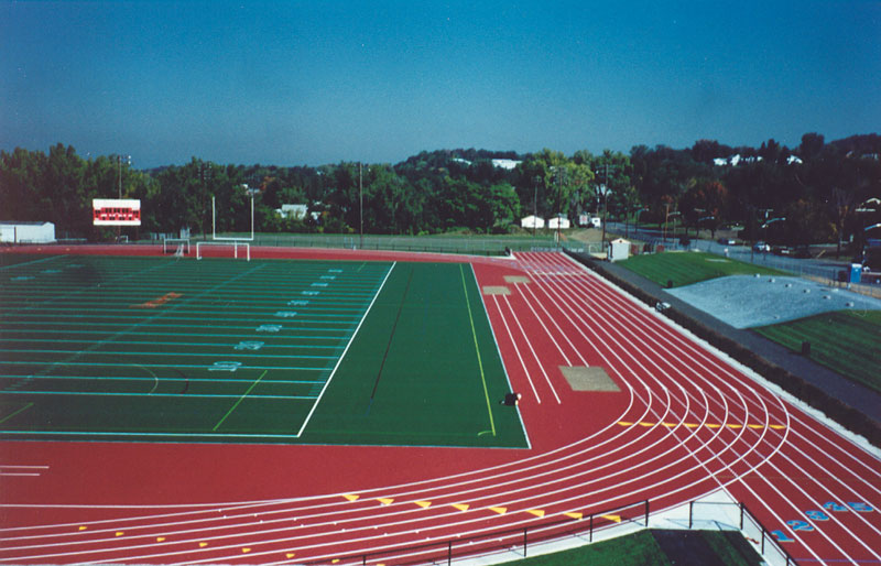 Construction of Ned Harkness Track & Field